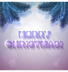 holiday present card vector image