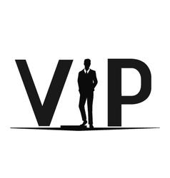 Vip logo vector