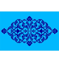 Artistic ottoman pattern series fifty eight vector