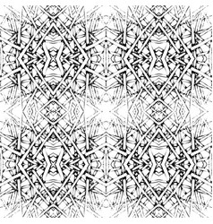 black-white tiles seamless pattern vector image vector image