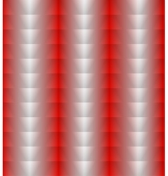 Red silver vertical background of triangles vector image