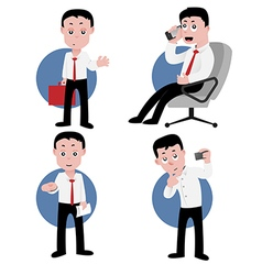 Officeworker preview vector