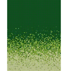 Bubble gradient pattern in green and yellow vector
