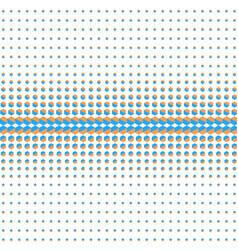 Abstract halftone hexagon vector