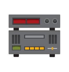 Audio studio controller stereo graphic vector