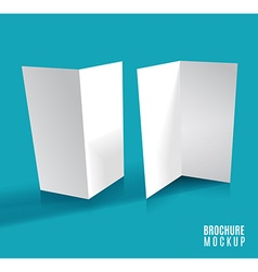 Brochure design isolated vector image