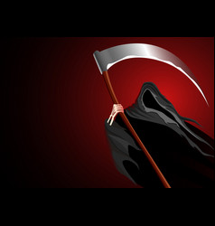 Graphic of a grim reaper vector