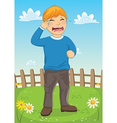 Kid Crying vector image