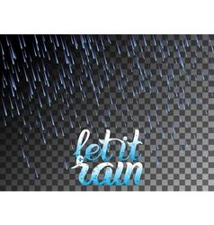 Let it rain vector