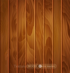 Brown wooden planks vector