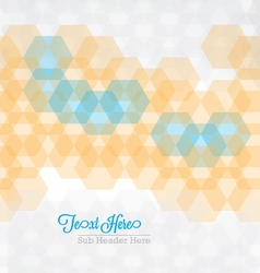 Hex cover vector