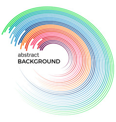 abstract background with bright colorful lines vector image vector image