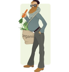 Organic eater vector