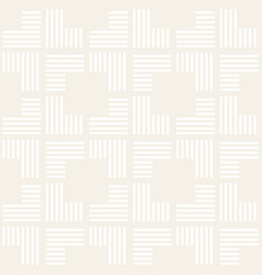 Seamless pattern with stripes abstract vector