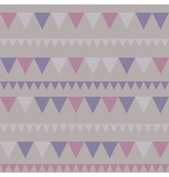 Triangles seamless background vector image