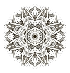 Ornamental lotus vector