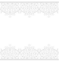 seamless pattern of vintage floral background vector image