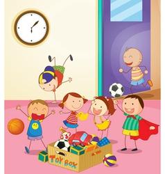 Preschool Classroom vector image