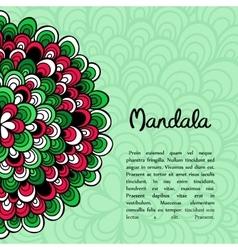 Card or invitation Vintage decorative elements vector image vector image