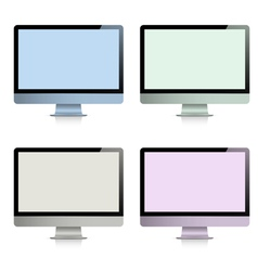 Computer displays vector