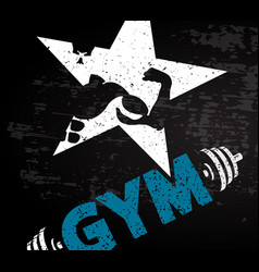 going for to a gym vector image vector image
