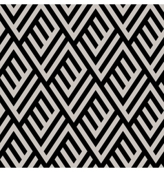 Monochrome maze pattern vector image