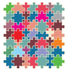 puzzle2 resize vector image