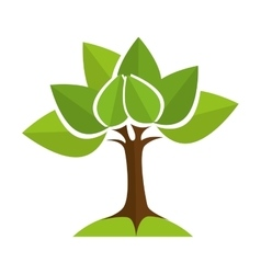 tree ecology nature vector image
