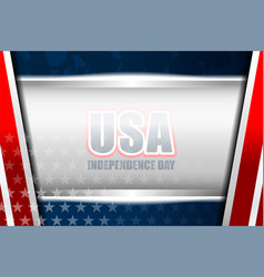 Usa background independence day vector