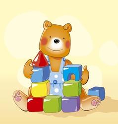 Baby bear vector