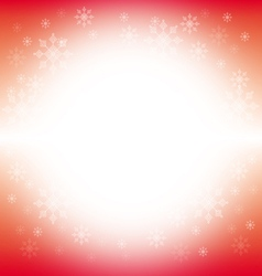 Christmas and winter background - red vector