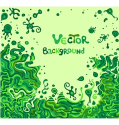 doodle background with space for your text vector image vector image