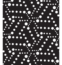 Geometric seamless pattern modern circle galaxy vector