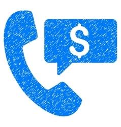 Phone order grainy texture icon vector