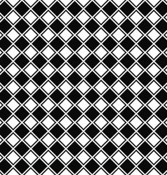 Repeating black white square pattern vector