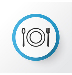 Restaurant icon symbol premium quality isolated vector