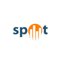 spot business vector image