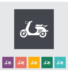 Scooter vector image