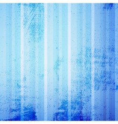 Blue Striped Grunge vector image