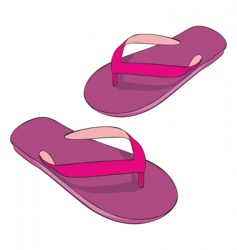 Slippers vector