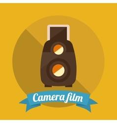camera film vector image