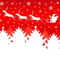 christmas back new vector image vector image