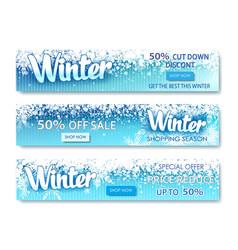 December shopping promo or 50 shop discount vector