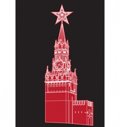 kremlin vector image vector image