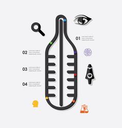 Medicine infographic vector