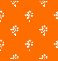 Prickly palm pattern seamless vector