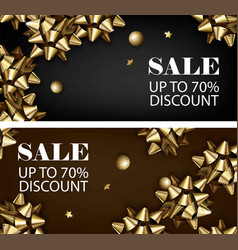 Sale discount for everything promo offer banner vector