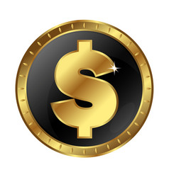 Symbol of money and exchange vector