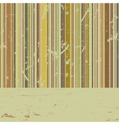 Vector striped grunge background vector