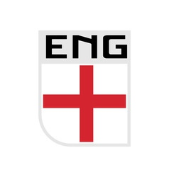 Flag of England icon vector image
